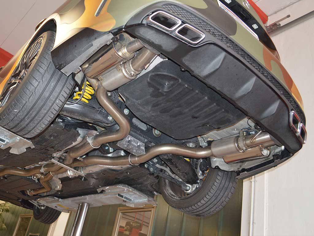 AMG C63 Sportauspuff