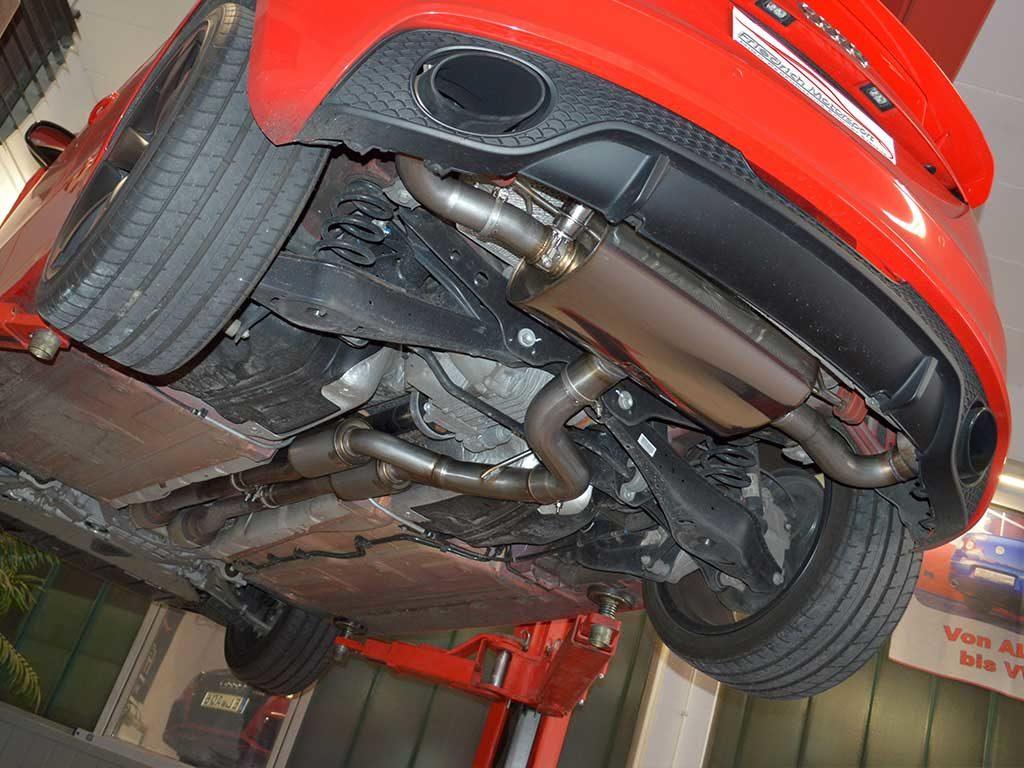 Audi TT RS Sportauspuff