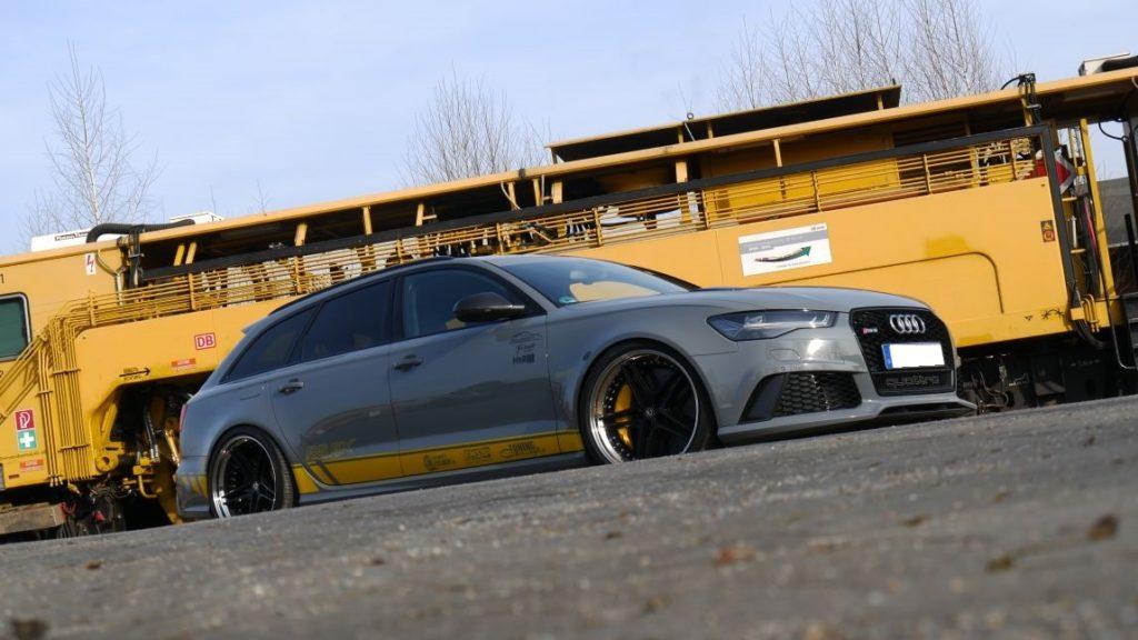 Audi RS6 mit FS-Line Felgen, KW Fahrwerk, Folierung und Leistungssteigerung