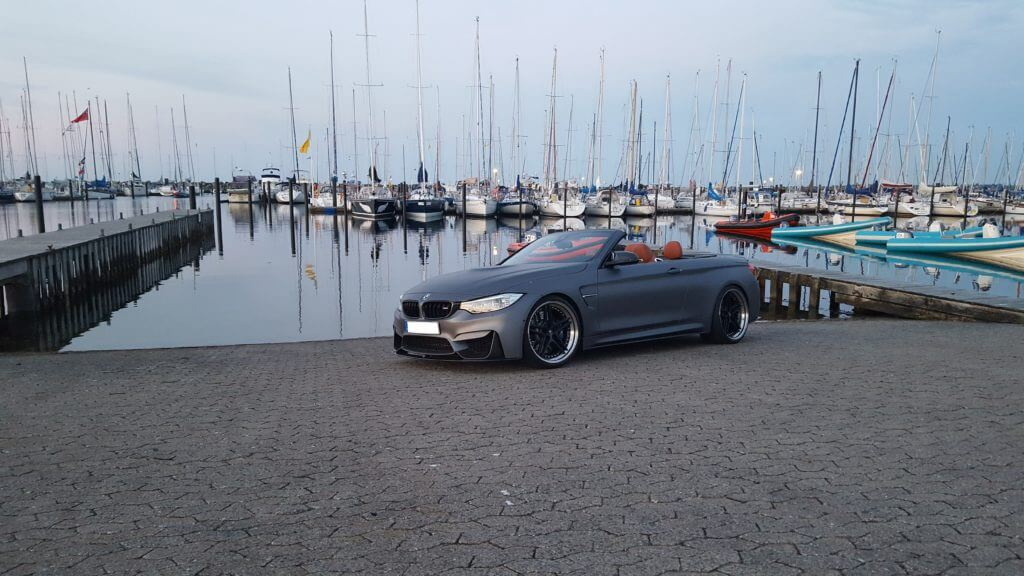 BMW M4 F82 mit Downpipes